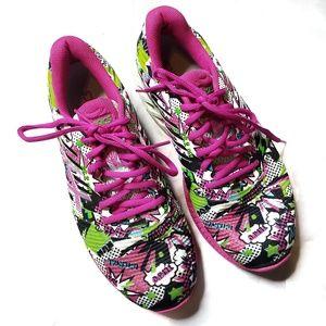 Asics Pink FuzeX Shoes 8.5
